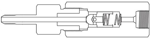 Фильтр трубка-штуцер