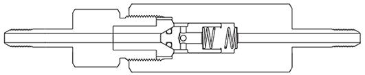 Фильтр трубка-трубка