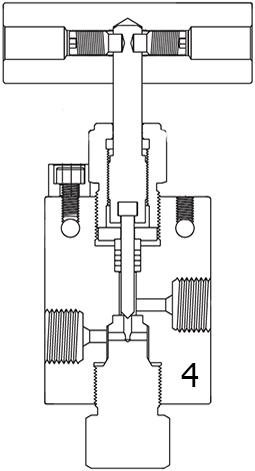 Вентиль прямой с заменяемым седлом